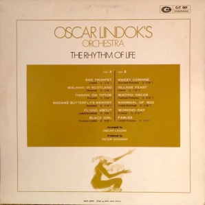 Oscar Lindok's Orchestra - The Rhythm Of Life (1972) CAM back