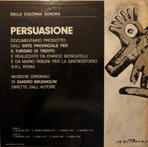 Sandro Brugnolini - Overground (1970) Sincro back