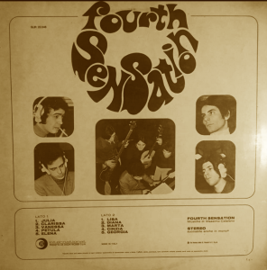 Fourth Sensation - Fourth Sensation (1970) Ricordi International