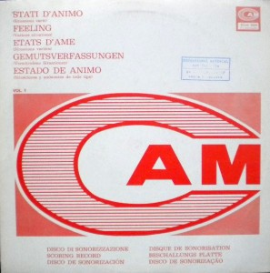 Various Artists - Stati d'animo Vol. 1 - Situazioni varie (1973) CAM Records
