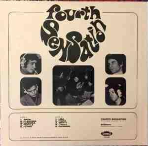 Fourth Sensation - Fourth Sensation (2017 Reissue) Cinedelic Records (1970) back