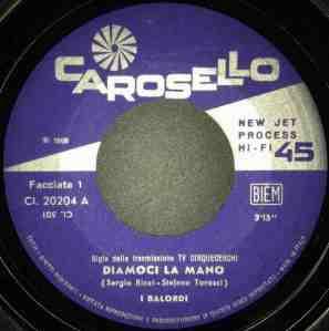 I Balordi - Diamoci la mano : Fateli tacere (1968) Carosello label A